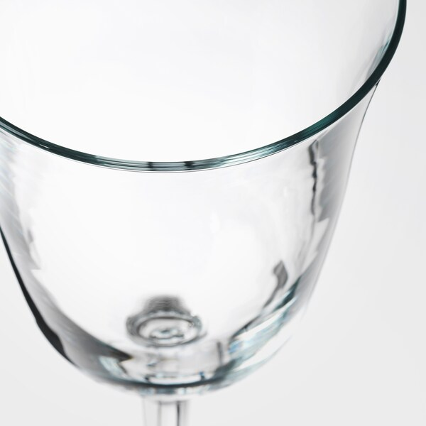 FRAMTRÄDA Wine glass, clear glass, 30 cl