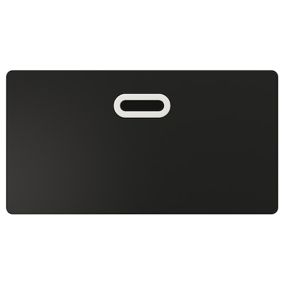 FRITIDS Drawer front w blackboard surface, anthracite, 60x32 cm