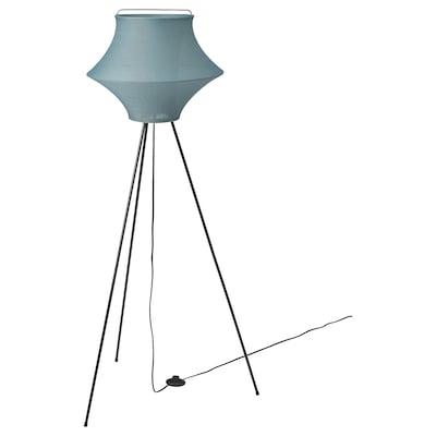 FYXNÄS Floor lamp, turquoise