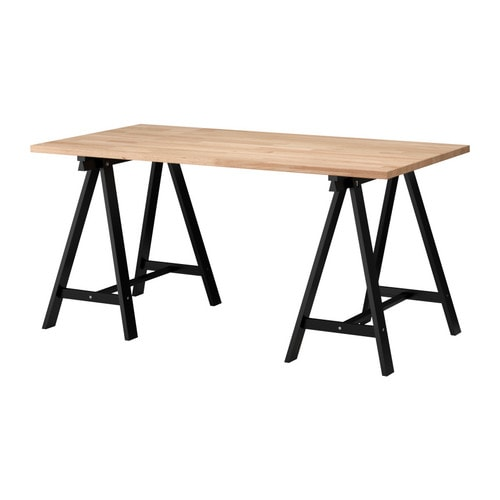GERTON/ODDVALD Table IKEA Solid wood, a durable natural material.