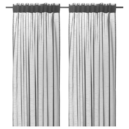 IKEA GJERTRUD Sheer curtains, 1 pair