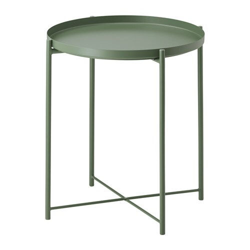 GLADOM Tray Table Dark Green IKEA