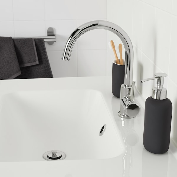 GLYPEN Wash-basin mixer tap, chrome-plated