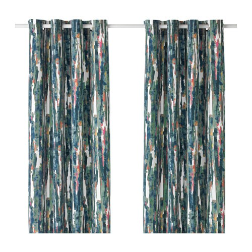 GRÄSLILJA Curtains 1 pair IKEA
