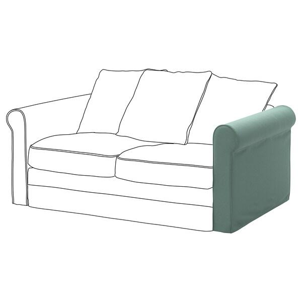 GRÖNLID cover for armrest Ljungen light green