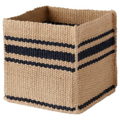 GULARÖD Basket, handmade natural, 30x30x30 cm