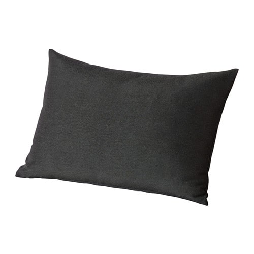 HÅLLÖ Back cushion, outdoor IKEA You can add extra comfort to your garden sofa or chair by using this cushion as a lumbar support or armrest.