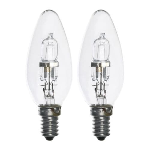 HALOGEN Bulb E14 IKEA Dimmable, from general light to mood light.
