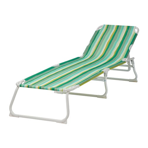 H m sun lounger ikea for Toile chaise longue