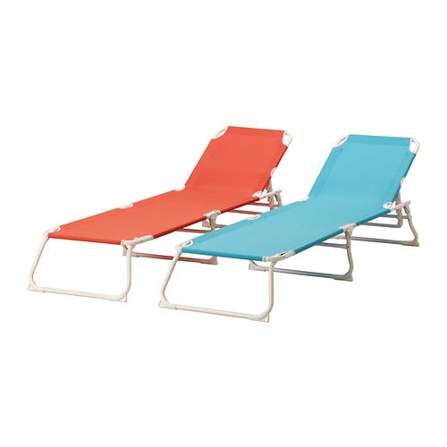 HÅMÖ Sun lounger IKEA Heavy polyester fabric; extra hard-wearing and durable material.
