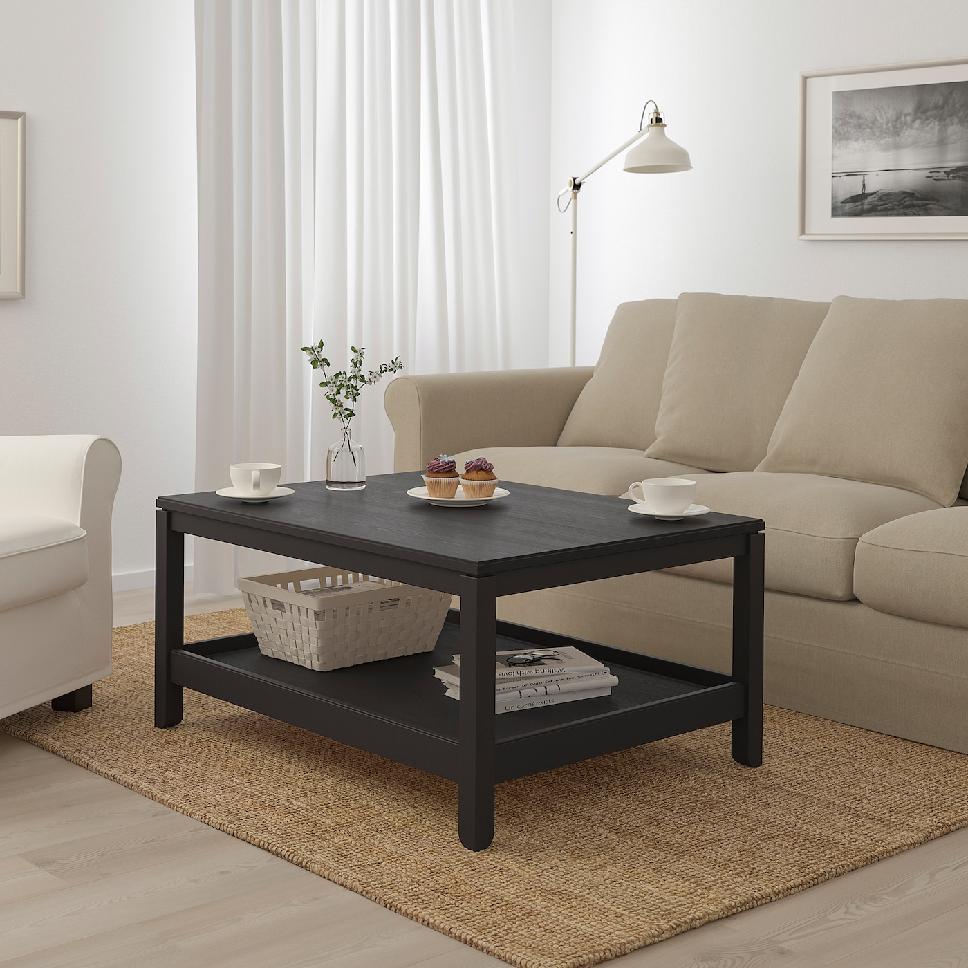 Picture of: Havsta Coffee Table Dark Brown Ikea