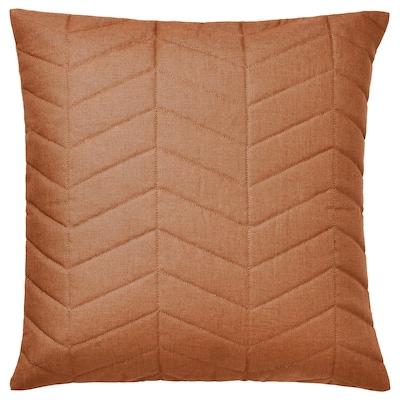 HÖSTKVÄLL Cushion cover, orange, 50x50 cm