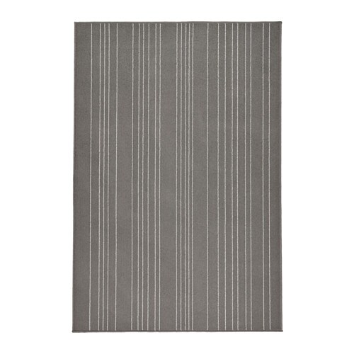 HULSIG Rug, low pile IKEA Durable, stain resistant and easy to care for since the rug is made of synthetic fibres.