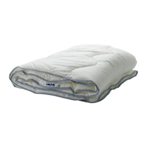 IKEA 365+ MYSA Quilt, warmth rate 2 IKEA A thin, lightweight cellulose and synthetic quilt for you who often feel warm and prefer a cool quilt.