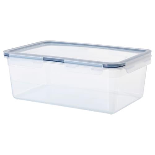 IKEA 365+ food container with lid rectangular/plastic 32 cm 21 cm 12 cm 5.2 l