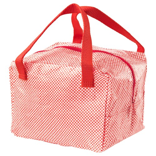 IKEA 365+ lunch bag red 22 cm 17 cm 16 cm