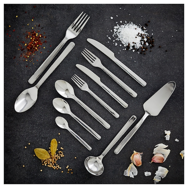 IKEA 365+ 24-piece cutlery set, stainless steel