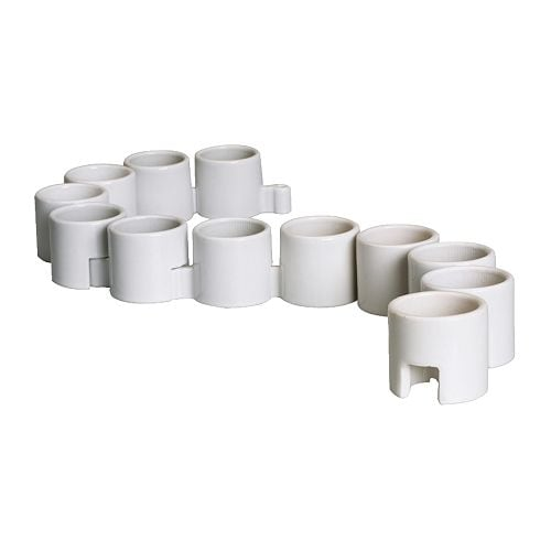 IKEA PS Tealight holder IKEA 12 tealight holders; can be used separately or linked together.