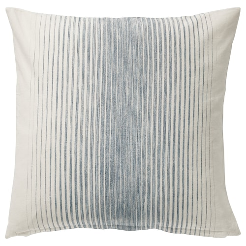 ISPIGG cushion cover blue/natural 50 cm 50 cm