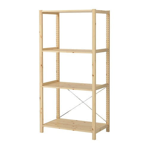 IVAR 1 section/shelves IKEA
