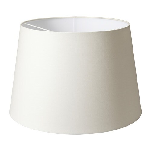 JÄRA Shade IKEA Shade of textile; gives a diffused and decorative light.