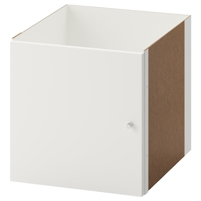 KALLAX Insert with door, white, 33x33 cm