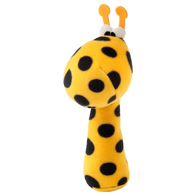 KLAPPA Rattle, multicolour/yellow