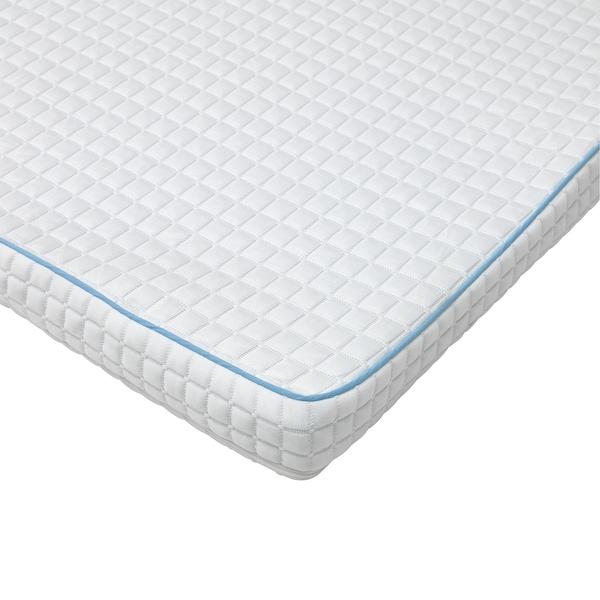 KNAPSTAD Mattress pad, white, 150x200 cm