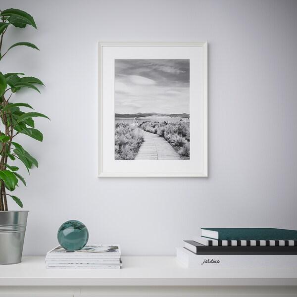 KNOPPÄNG Frame, white, 40x50 cm