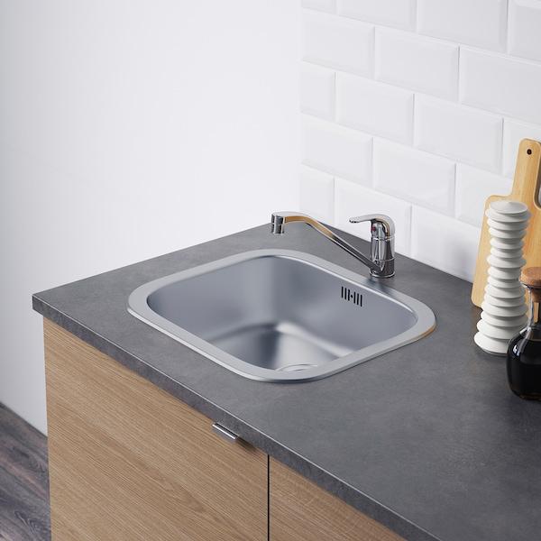 KNOXHULT kitchen wood effect grey 182.0 cm 183.0 cm 220.0 cm
