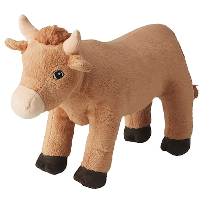 KNYST Soft toy, brown, 32 cm