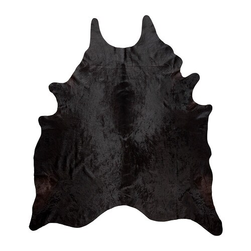 KOLDBY Cow hide IKEA The cowhide is naturally durable and will last for many years.