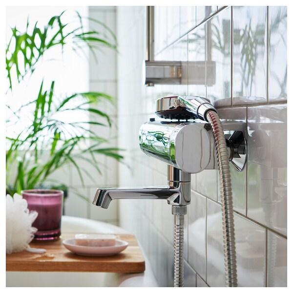 KOLSJÖN Shower hose, chrome-plated