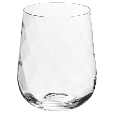 KONUNGSLIG Glass, clear glass, 35 cl