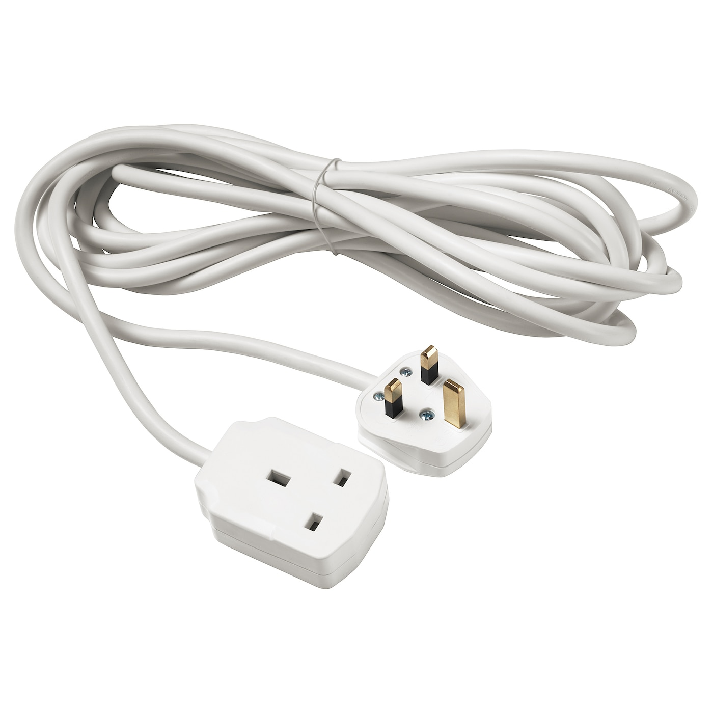 Extension Cord Koppla Earthed White