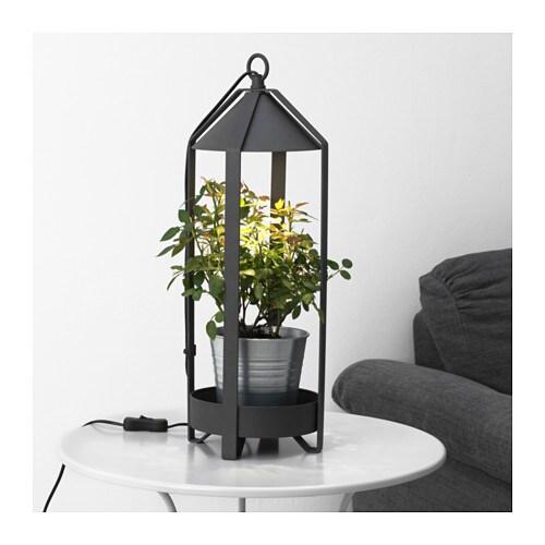 KRYDDA Plant Holder W LED Cultivation Bulb