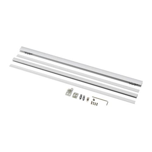 KVARTAL Top- and bottom rail IKEA For panel curtains; assures smooth and straight hanging.