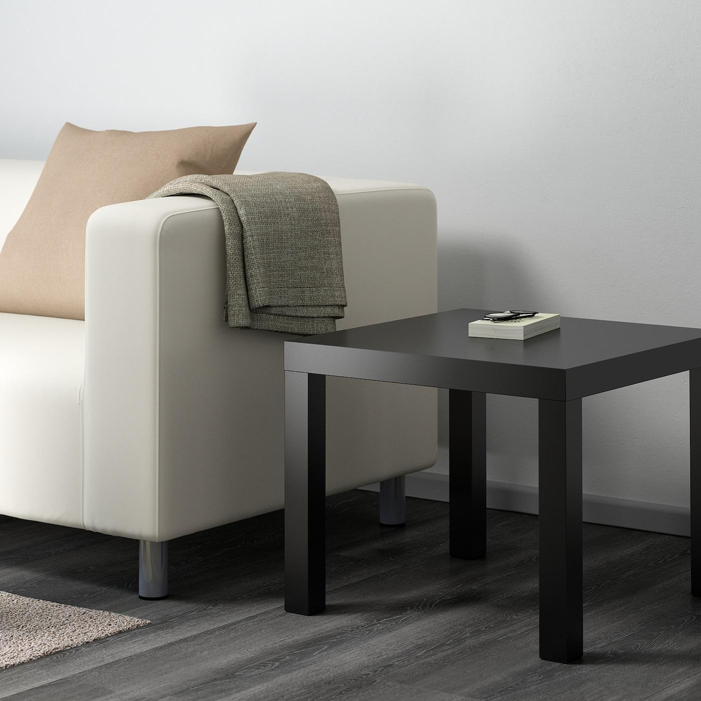 Lack Side Table Black 55x55 Cm Ikea [ 1400 x 1400 Pixel ]
