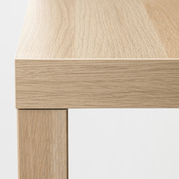 LACK Side table, white stained oak effect, 55x55 cm