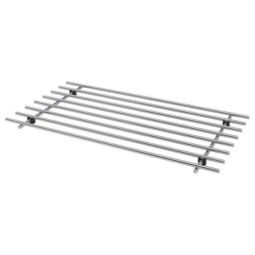 LÄMPLIG trivet stainless steel 50 cm 28 cm 2 cm