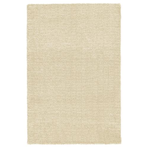 LANGSTED rug, low pile beige 90 cm 60 cm 13 mm 0.54 m² 2500 g/m² 1030 g/m² 9 mm