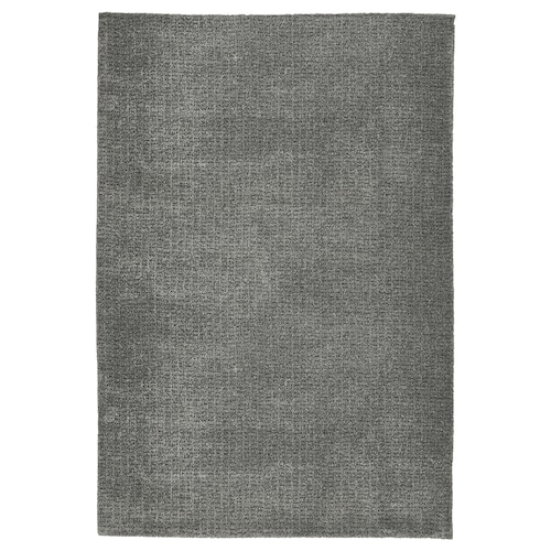 LANGSTED rug, low pile light grey 195 cm 133 cm 14 mm 2.59 m² 2195 g/m² 900 g/m² 11 mm