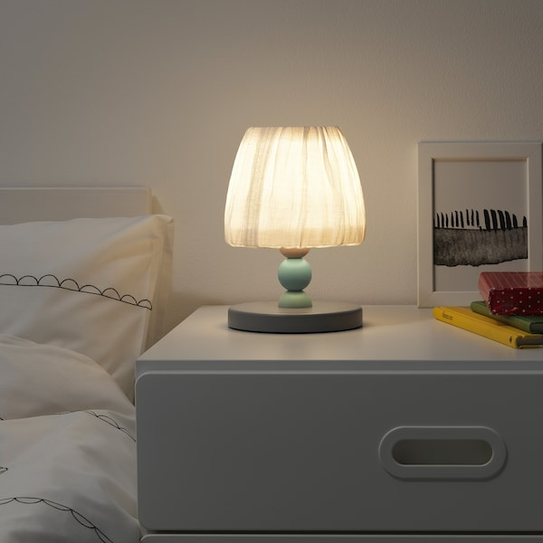 LANTLIG LED table lamp grey 23 cm 16 cm 1.9 m 3 W