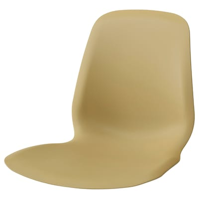 LEIFARNE Seat shell, light olive-green