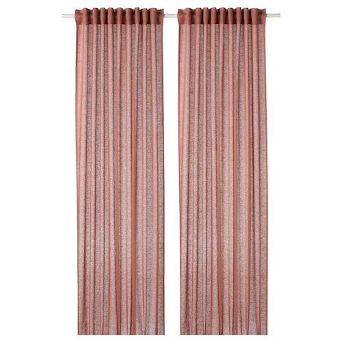 IKEA LEJONGAP Curtains, 1 pair