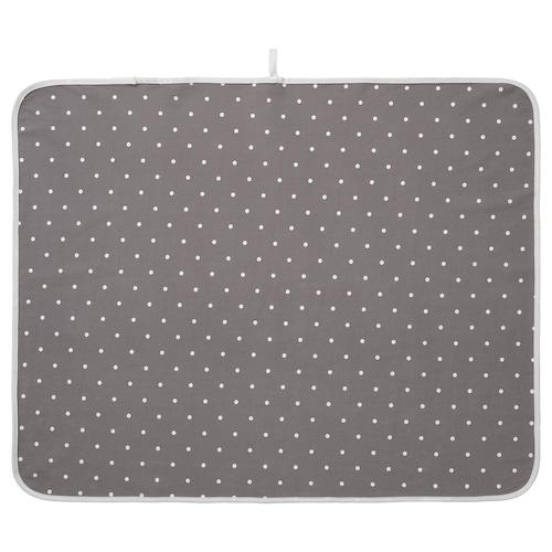 LEN babycare mat dotted/grey 90 cm 70 cm