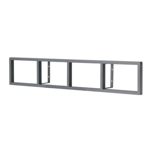 LERBERG DVD/CD wall shelf IKEA Suitable for both CDs and DVDs; to be hung horizontally for CDs and vertically for DVDs.