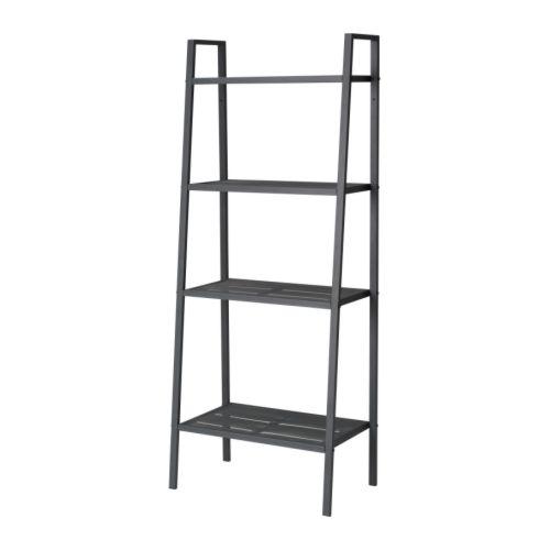 Ikea lerberg  LERBERG Shelf unit, dark grey - 60x148 cm - IKEA