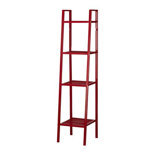Ikea lerberg  LERBERG Shelf unit - red - IKEA