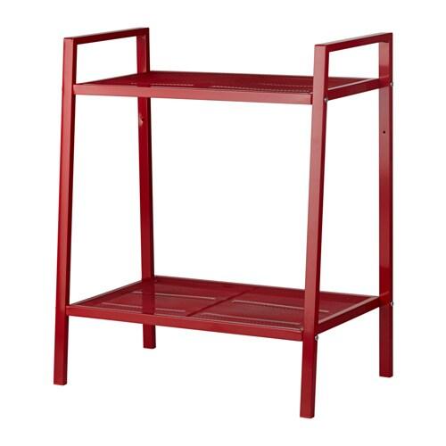 lerberg shelf unit red ikea. Black Bedroom Furniture Sets. Home Design Ideas